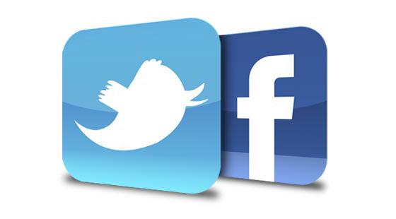 Integração nas redes sociais!